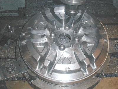 Molde de Roda de Alumínio